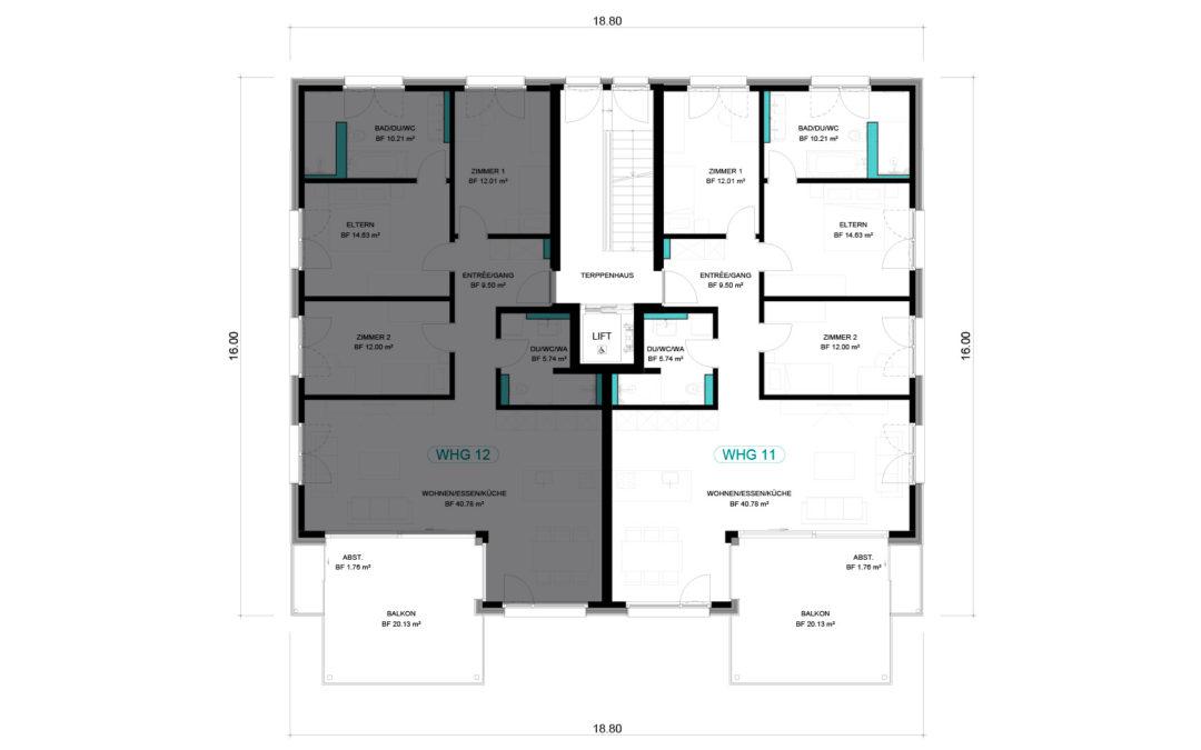 4 1/2 Wohnung OG – WHG 11